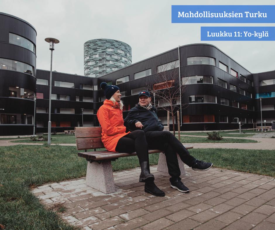 Suomen paras opiskelijakaupunki tarjoaa monipuolisia asumismahdollisuuksia!